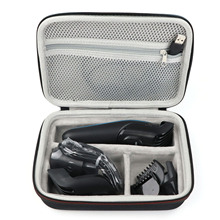 เบ็ดเตล็ดเบรคกิ้งแบบพกพา Hair Clipper มีดโกนหนวด Eva Hard Storage กรณีป้องกันกระเป๋าสำหรับ Braun MGK 3020 3060 3080