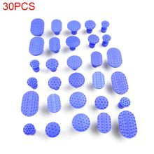 30 Pcs/pack Car Body Dent Removal Pulling Tabs Repair Tools Glue Paintless Lifter Kit Extractor Dents Removing Washer C6UB