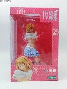 Image 5 - 16cm sexy uma irmã tudo o que você precisa anime figura de ação 1/7 escala miyako shirakawa vestir se ver modelo pvc decoração presente boneca novo