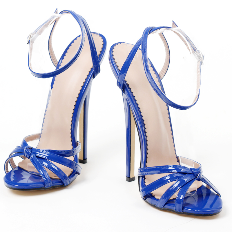 Sapatos de salto fino unissex, salto alto