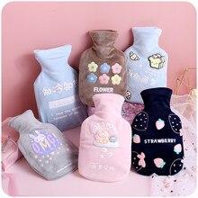 Bolsa de invierno con forma de conejo, Botella de agua caliente esponjosa, calentador de manos, artículos para el hogar BW50RS