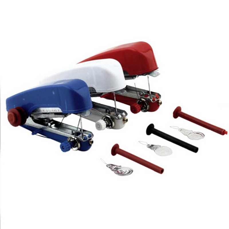 Máquina de coser mini multifuncional manual, máquina de costura portátil, overlock, reparación de ropa para el hogar, Accesorios