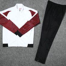 Евро размер футбольная куртка брюки комплект, Survetements de foot Homme спорта, бега спортивный костюм тренировочный футбол
