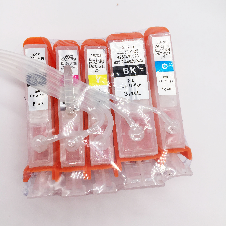 Cis СНПЧ Непрерывная система чернил для Canon MG8150 MG6150 MG5250 с автоматическим сбросом чип Запчасти для принтера
