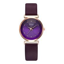 Elegant Luxury Diamond Ladies Watches 2019 New Fashion Women Quartz Leather Wrist Watch Charm Party Female Reloj Mujer