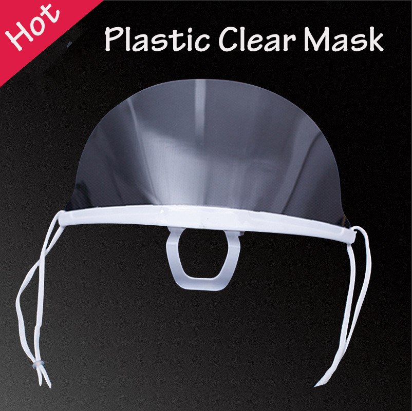 1/2pcs New Plastic Clear Mask Permanent Makeup Tattoo Supply Prevent Spittle Anti-fog Transparent Lens Dental Tattoo Accessory(China)