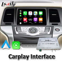 Wired Carplay-Interface Video Android Lsailt Murano Youtube Music-Play for Nissan Auto
