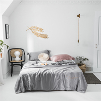 2020 Fashion Silky Soft Comfortable Summer Quilt Air Conditioning Duvet 100% Lyocell Blanket Bedspread Adults Silver Bed Quilts