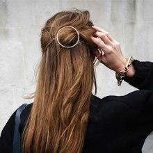 Шпилька для волос в форме Луны, ювелирные украшения для губ, круглые заколки для волос для женщин, заколки для волос, аксессуары для укладки волос