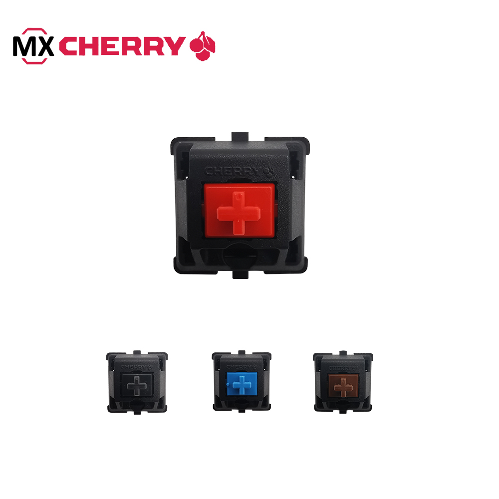 German Brand Excellent Qulity Red Blue Brown Black Cherry Mx Switch Axis  For Mechanical Keyboard