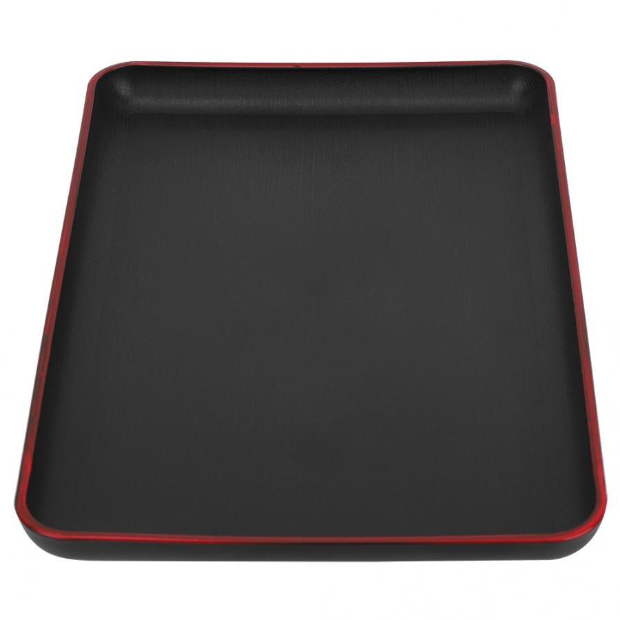 Сервировочный поднос для десертов, прямоугольный поднос в японском стиле, поднос для сервировки еды для ресторана, Домашний Настольный поднос для хранения мелочей-2