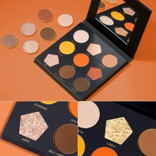 Clever Color Eye Shadow Palette Light And Dark Colors Matte Natural Effect Waterproof Makeup