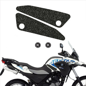 Image 1 - Fuel tank grip motorcycle non slip sticker Fuel tank side protection decal for BMW  08 16 G650GS 00 07 F650GS KTM 00 07 640 DUKE