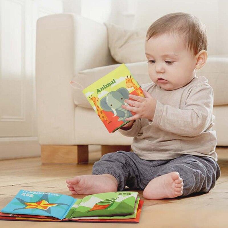 Bébé livres 0 12 mois bébé doux livre tissu livres pour bébés enfants jouets éducatifs Montessori jouets bébé jouets cadeaux de développement