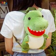 Dinosaur Backpack Plush-Toys Children School-Bag Stuffed Shoulder Girls Kids Boys Gift