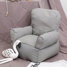 Детский, обеденный диван-стул портативный детский Мини плед холст диван для новорожденных детей детский сад фотография Реквизит диван-стулья