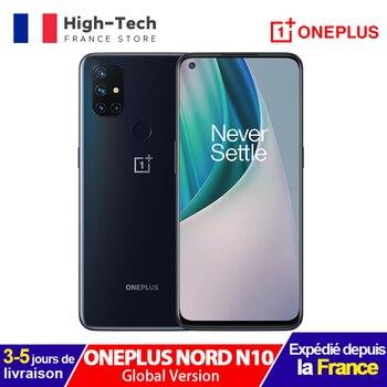 Перейти на Алиэкспресс и купить Глобальная версия Oneplus N10 Nord N10 5G смартфон 6,49 дюйм90 Гц Дисплей 6 ГБ Оперативная память 128 Гб Встроенная память 64-мегапиксельная четырехъядерная ка...