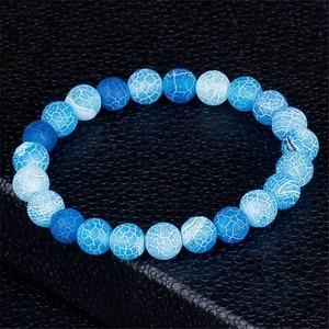 Image 1 - Модные ювелирные изделия, браслеты из натурального камня для женщин и мужчин, регулируемый браслет с чакрами, молитвенные украшения, браслеты, подарки