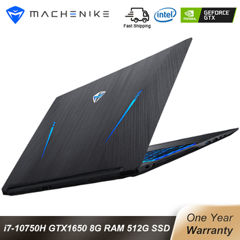Machenike T90 Gaming laptop Intel Core i7 10750H Laptops GTX1650 4G 8GB RAM 512G SSD 15.6'' 6mm Border IPS Machenike notebook