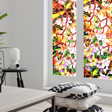 Decorative-Film Window-Stickers Stained-Decals Protective Glass Static-Privacy Self-Adhesive