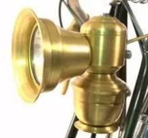 Luz de cobre Retro Para Bicicleta/campana de cobre campanas de bicicleta Vintage accesorios de cobre Retro Para Bicicleta