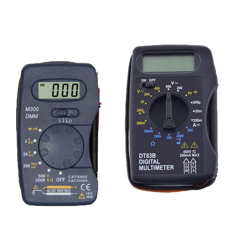DT83B Digital Multimeter Handheld Tester AC/DC Voltage  Modern Current Ohmmeter Clamp Meters Cheap