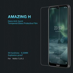 Image 3 - מקורי NILLKIN מזג זכוכית מסך מגן עבור Nokia 7.2 מדהים 9H 0.33mm סרט עבור Nokia 6.2