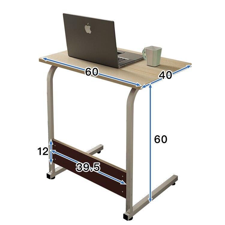 Simple Laptop Desk Bed With Desktop Home Desk Simple Modern Removable Lift Bedside Table