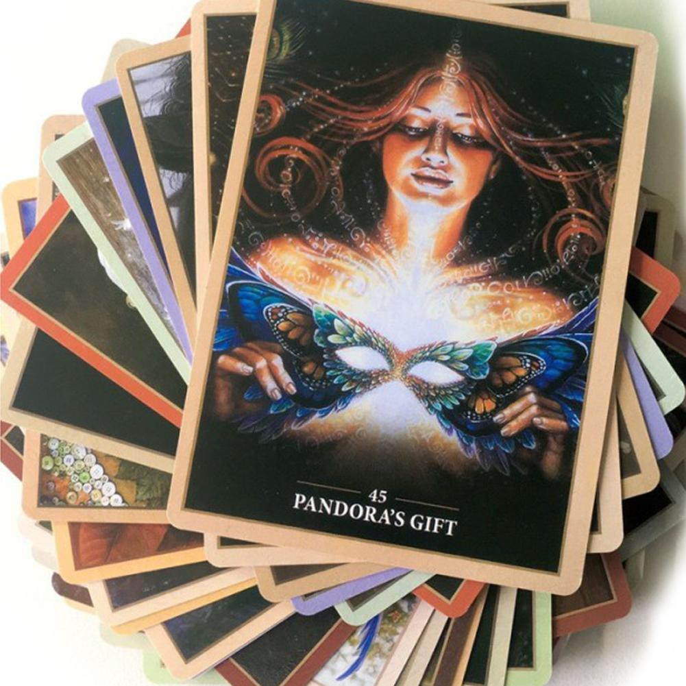 45 Pieces English Sacred Rebel Oracle Tarot Cards Deck Board Games For Party Playing Card Table Tarot Card Game Entertainment