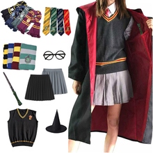 Gryffindor Slytherin Magic Cloak Potter Cosplay Costume Robe Cape Hermione Granger Cosplay Potter Ravenclaw Hufflepuff Costume doctor strange cloak cosplay costume dr strange steve red cloaks magic robe halloween party long cape