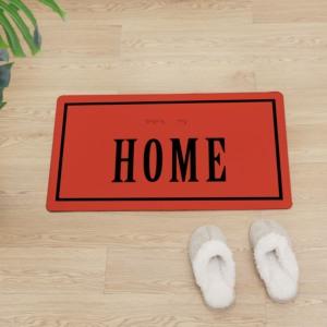 Image 2 - Alfombra de PVC original para el hogar, alfombra antideslizante para la cocina, decoración moderna para el hogar, Felpudo de entrada, Alfombra de cuero para proteger el suelo de la puerta delantera