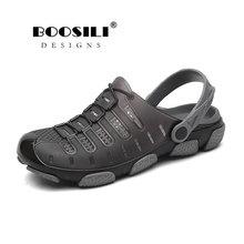 2020 Brand Duty-free Big Size 45 Lover Clogs 3 Colors Croc Shoes Men's Band Sand