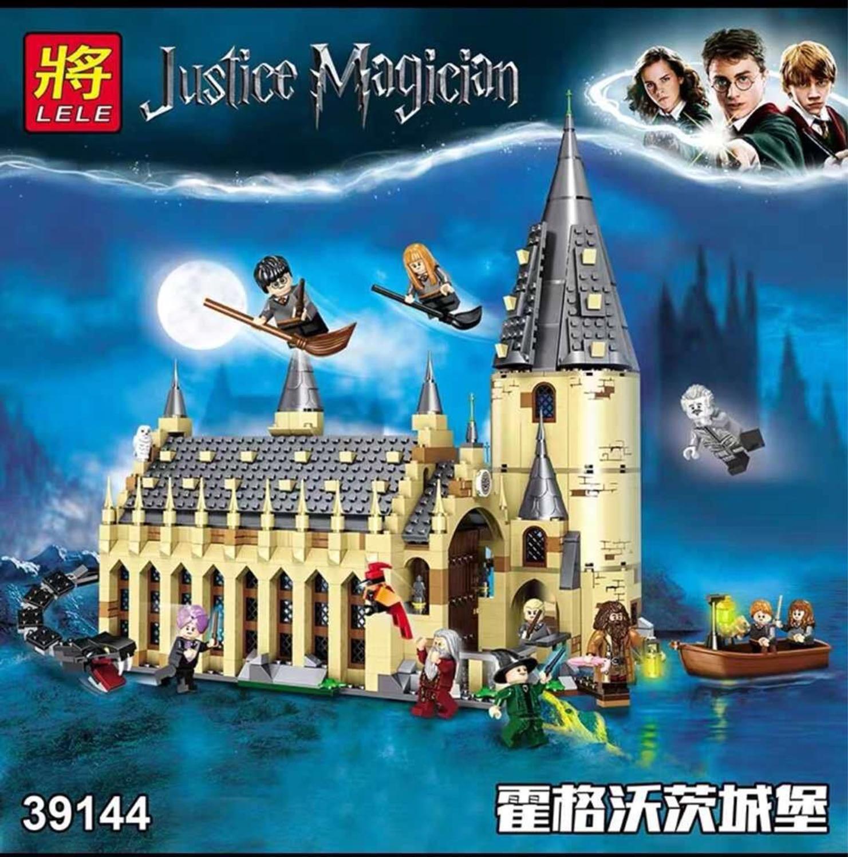 Big Building Blocks House Magic Castle Wall Model Toys 11007 16052 Compatible Legoinglys Friends City Magic World