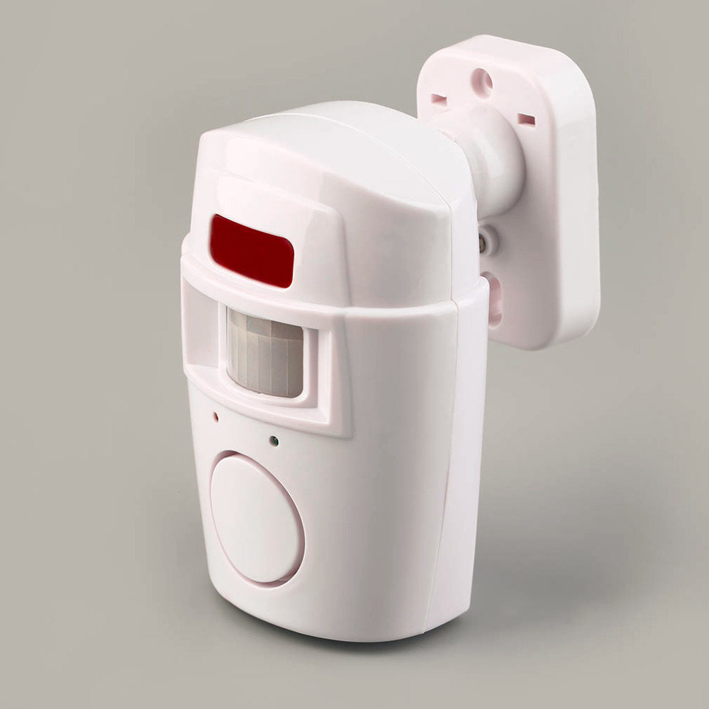 2017 NEW 105db New Pir Motion Sensor Home Shed Burgular Alarm System Wireless Security Kit High Quality !!!