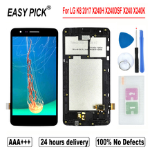 For LG K8 2017 Dual X240H X240DSF X240 X240K X240I PP2 LCD Display Touch Screen Digitizer Assembly F