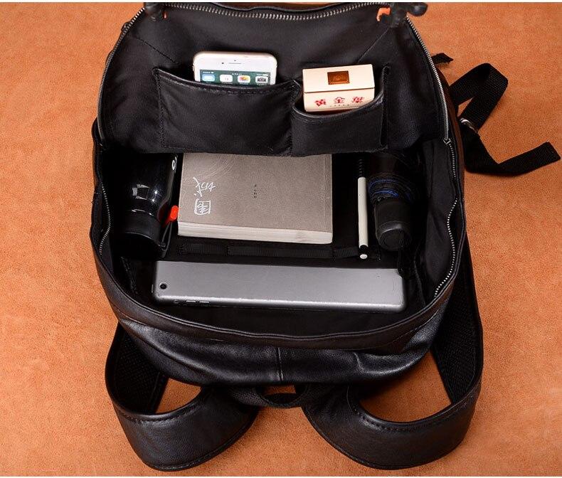 Mochila Grande Capacidade Masculino bolsa de Computador