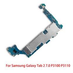Dobra robota oryginalna praca dla Samsung Galaxy Tab 2 7.0 P3100 P3110 płyta główna 3G i WIFI odblokowany kabel płyty głównej