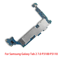 Good Working Original Working For Samsung Galaxy Tab 2 7.0 P3100 P3110 Motherboard 3G&WIFI Unlocked Mainboard Circuits Cable|Mobile Phone Flex Cables|Cellphones & Telecommunications -