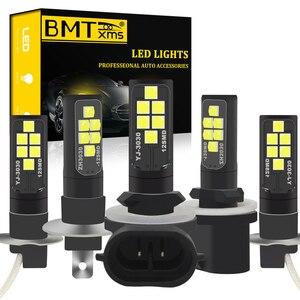 BMT H1 H3 LED h27w2 h27w/2 LED Bulb h27w 880 881 h27w1 h27w/1 Car led fog lights lamp cars daytime running lights DRL12V LED(China)