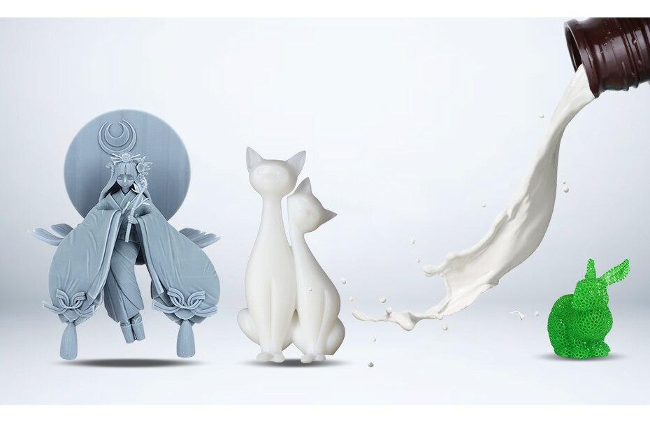 He7c64cf7911d4c609769eb1830e51c627 Rasina UV pentru imprimanta 3D, 1 litru, negru, alb