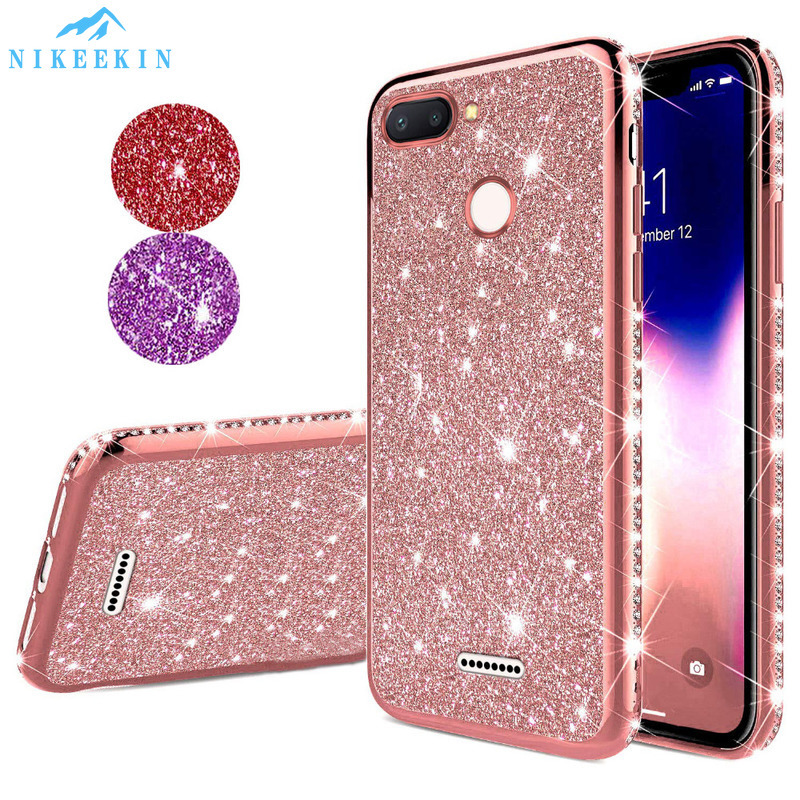 Diamond Glitter Case for <font><b>Xiaomi</b></font> 10 Lite <font><b>Note</b></font> 10 <font><b>Pro</b></font> 9T CC9 9 <font><b>SE</b></font> 6X A3 A2 Lite Bling Cover <font><b>Redmi</b></font> <font><b>Note</b></font> 9S 8 <font><b>Pro</b></font> 8T 8A 6A 7A 6 <font><b>Pro</b></font> image