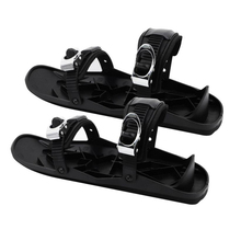 Unisex Winter Ski Skates Shoes Skiboard Mini Snowblades for Outdoor Sports 1 Pair x Ski Skates Shoes