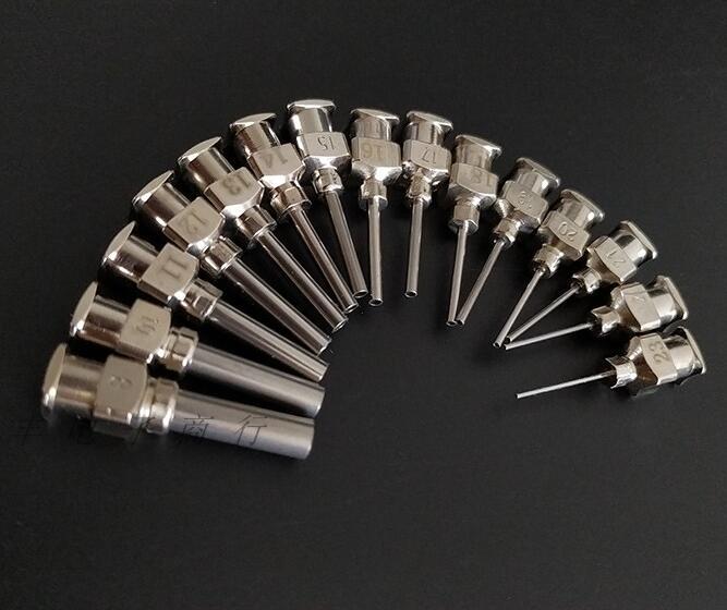 5 шт., 10 г до 27 г, 1/2 дюйма, цельнометаллическая игла, тупой наконечник, шприц из нержавеющей стали, дозатор игл|Детали инструментов|   | АлиЭкспресс