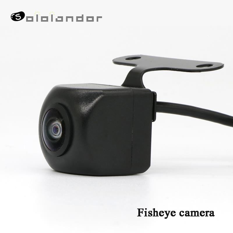 Super HD 170 Degree Fish Eye Lens Starlight Night Vision Vehicle Rear / Front View Camera Low-light Level 15m Visible Car Camera