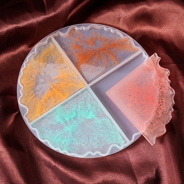 Фото 2 шт силиконовые блокированные горки формы нестандартные чаши