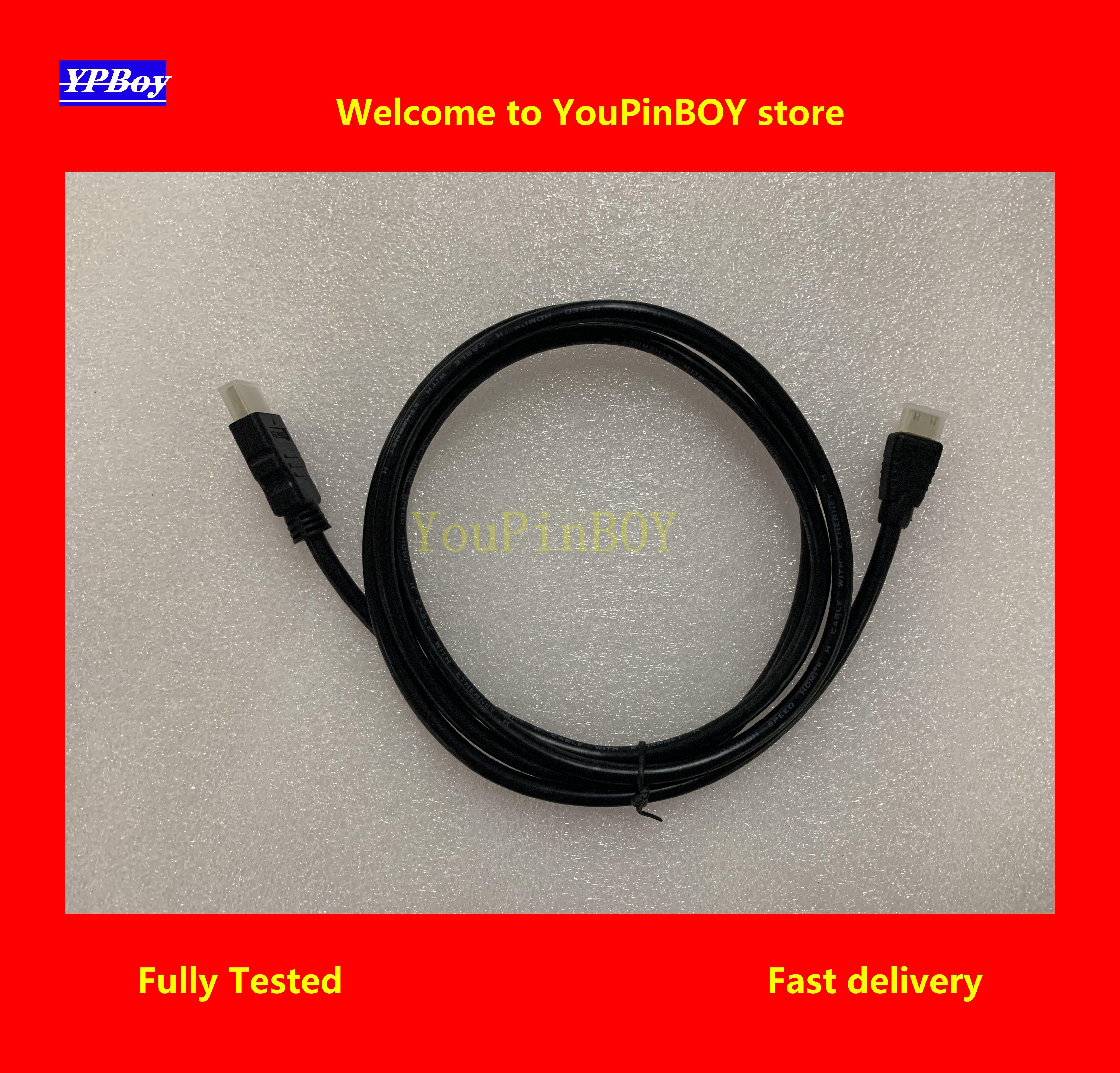 Youpinboy mini hdmi cabo de alta velocidade 1080 p 3d banhado a ouro cabo hdmi linha para hdtv xbox ps3 computador
