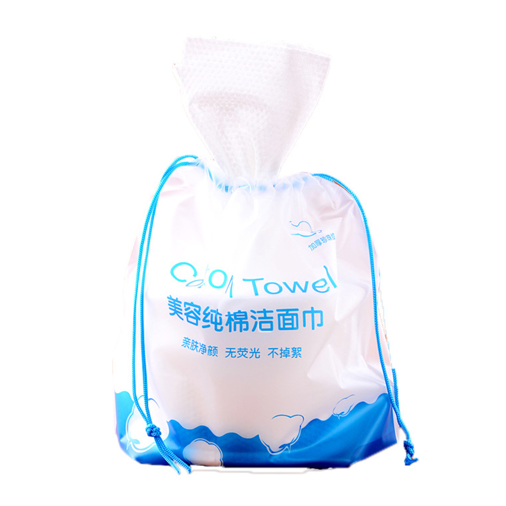 Thicken Travel Home Wash Towels Wipe Facial Tissue Roll Paper Makeup Remove Cleansing Non Woven Fabric Soft Wet Dry Disposable