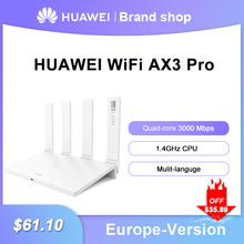 Huawei WiFi AX3 Pro quad-core AX3 dual-core router WiFi 6+ 3000Mbps 2.4GHz 5GHz dual-band gigabit rate WIFI wireless router