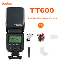 Godox TT600 2.4G HSS اللاسلكية GN60 ماستر/الرقيق كاميرا فلاش Speedlite الزناد لكانون نيكون سوني بنتاكس أوليمبوس فوجي Lumix