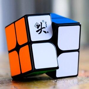Image 1 - Dayan 2X2X2 Tengyun M Magnetische Magische Kubus 2X2 Cubo Magico Educatief Speelgoed Kampioen Concurrentie professionele Kubus Speelgoed